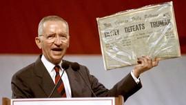 Miliuner dan Mantan Kandidat Presiden AS Ross Perot Meninggal