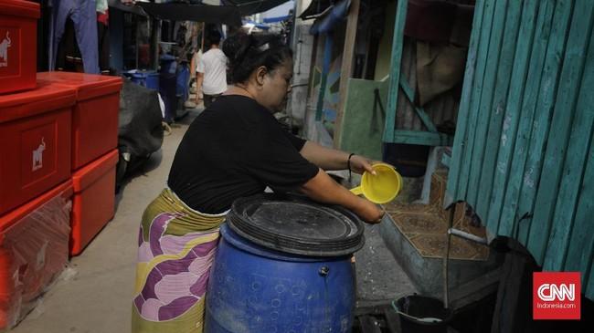Pengeluaran warga untuk membeli air bersih