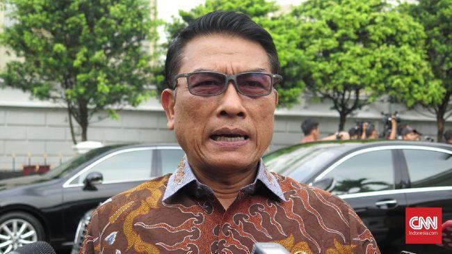 Jabatan Baru, Jokowi Bakal Angkat Wakil untuk Moeldoko