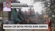VIDEO: Penjelasan Jasa Marga Soal Tiang Penyangga Tol Ambruk