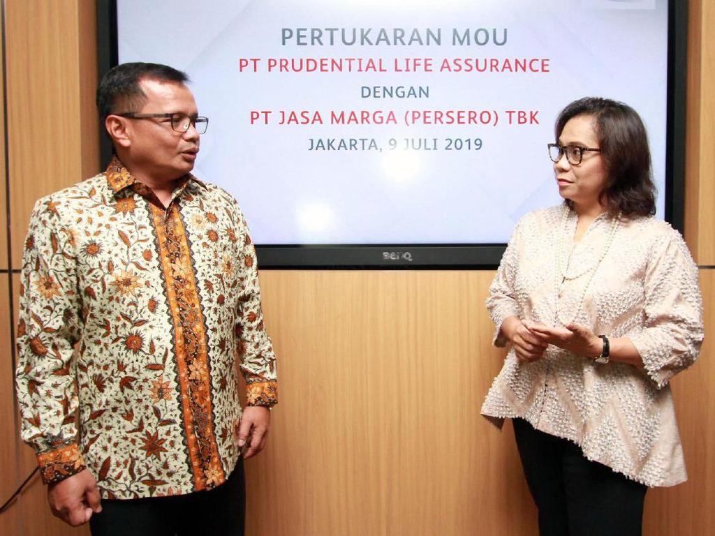 Prudential Indonesia berkomitmen melakukan investasi berbasis infrastuktur di sektor pembangunan jalan tol dengan menggandeng Jasa Marga dan anak usahanya.