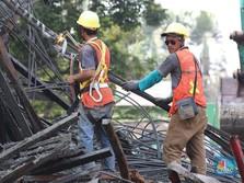 Tol BORR Ambruk, Catatan Buat Proyek Infrastruktur Jokowi