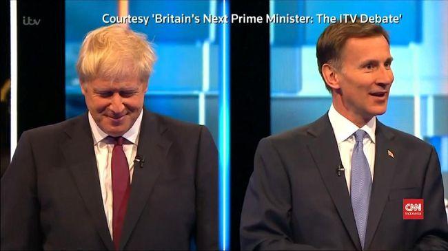 VIDEO: Debat Panas Calon PM Inggris Soal Brexit