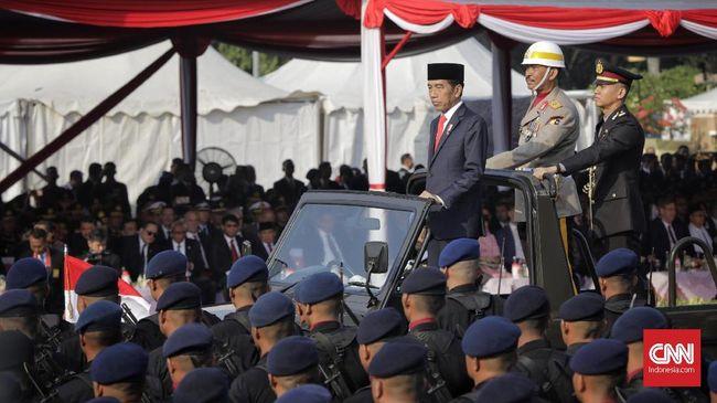 Jokowi Apresiasi Kepercayaan Masyarakat ke Polri Meningkat
