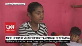 VIDEO: Nasib Ribuan Pengungsi Rohingya-Myanmar di Indonesia