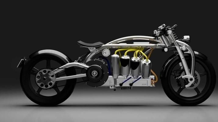 Melihat Motor Listrik Bermesin 8 Silinder Seharga Rp 1 Miliar
