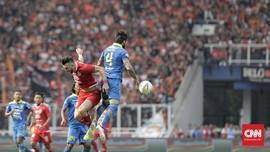 Persija Tertinggal 2-3 dari PS Tira di Babak Pertama Liga 1