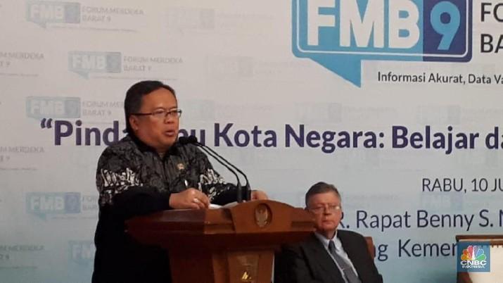 Menteri Bappenas menegaskan calon lokasi ibu kota baru sudah diakusai pemerintah, spekulan akan rugi sendiri.