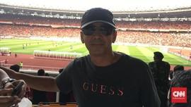 Rindu Atmosfer Lawan Persib, Legenda Persija Menyamar ke GBK