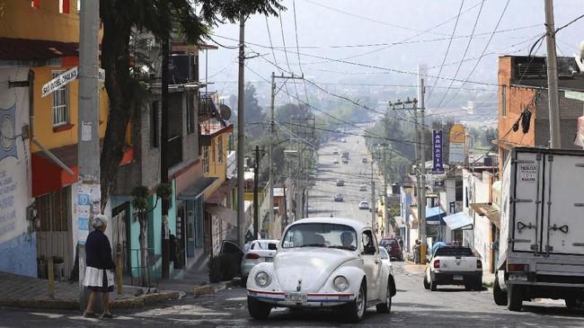 Penggemar VW Beetle klasik di Meksiko Ciry biasa disebut