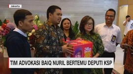 VIDEO: Tim Advokasi Baiq Nuril Bertemu Deputi KSP