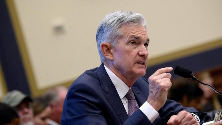 Detik-detik Jerome Powell Bicara Soal Sikap Dovish The Fed