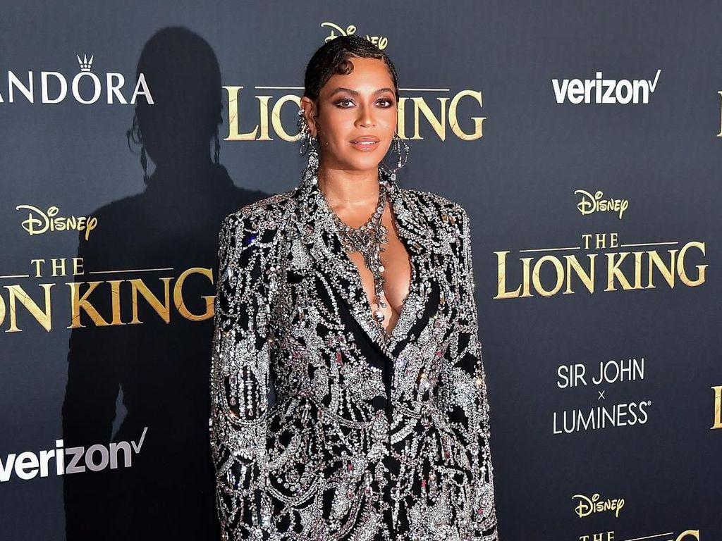 Beyonce hadir di acara world premiere The Lion KIng pertengahan pekan ini. Foto: Matt Winkelmeyer/Getty Images