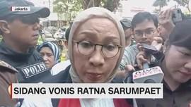 VIDEO: Sidang Vonis Ratna Sarumpaet