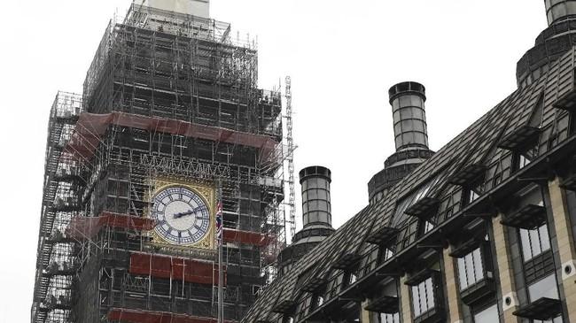 FOTO: Mengintip Restorasi Big Ben