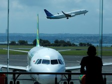 Jumlah Pesawat Operasi Nataru 2019 Turun, Penumpang Juga Loyo