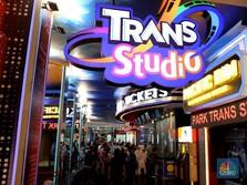Buka Perdana, Ribuan Orang Serbu Trans Studio Cibubur
