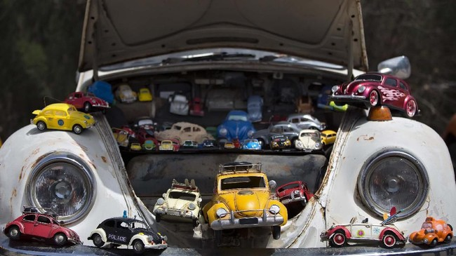 Die cast VW Beetle ikut meramaikan acara