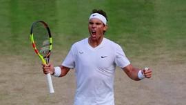 Nadal Tantang Federer di Semifinal Wimbledon 2019