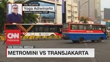 VIDEO: Metromini Vs Transjakarta