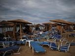 Kondisi Yunani Usai Diterjang Badai yang Menewaskan 6 orang