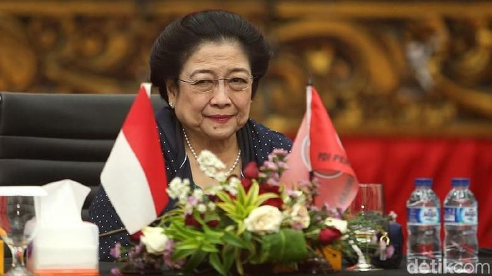 Megawati Soekarnoputri (detikFoto/Ari Saputra)