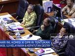 Komisi XI DPR RI Tentukan Hasil Uji Kelayakan Destry