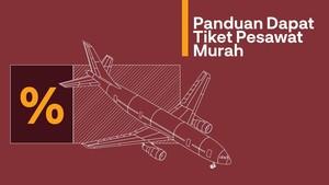 INFOGRAFIS: Panduan Tiket Pesawat Murah