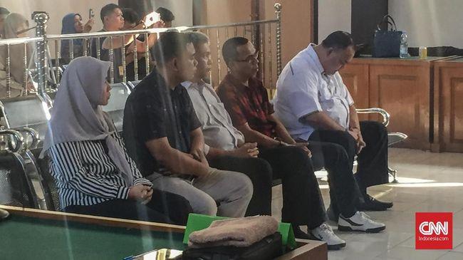 Lima Komisioner KPU Palembang Dituntut 6 Bulan Penjara