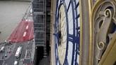 Big Ben membisu sejak menjalani masa pemugaran pada 21 Agustus 2017.(UK Parliament/Jessica Taylor/Handout via REUTERS)