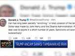 Trump Ancam Sanksi Tambahan ke Iran