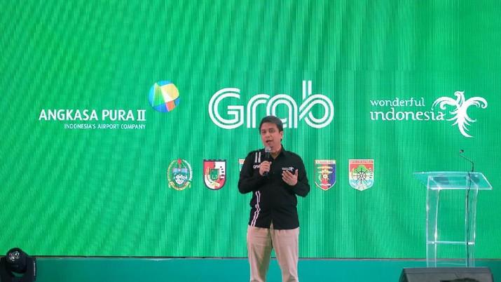 President Grab Indonesia Ridzki Kramadibrata mengatakan Grab kini bulan lagi hanya bukan lagi perusahaan ride hailing tetapi jadi Everyday Everything super App.