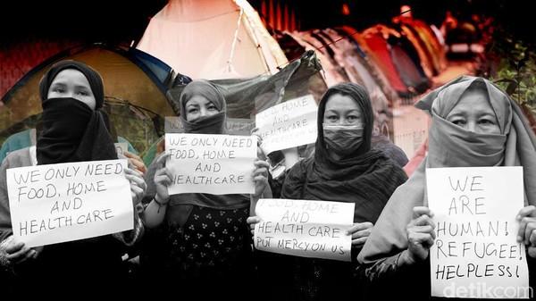 Nasib Pencari Suaka di Jakarta