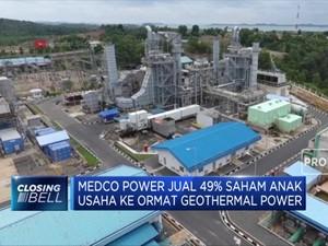 Medco Power Jual 49% Saham Anak Usaha