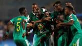 Senegal meng tipis 1-0 atas Benin di perempat final. Senegal akan menghadapi Tunisia di semifinal. (REUTERS/Mohamed Abd El Ghany)