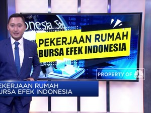 Pekerjaan Rumah Bursa Efek Indonesia