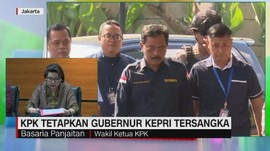 VIDEO: KPK Tetapkan Gubernur Kepri  Tersangka