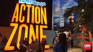Daftar Wahana di Trans Studio Theme Park Cibubur