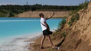 FOTO: Keindahan Danau 'Maldives' yang Mematikan