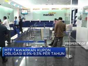 Mandiri Tunas Finance Siap Terbitkan Obligasi Rp 1 T