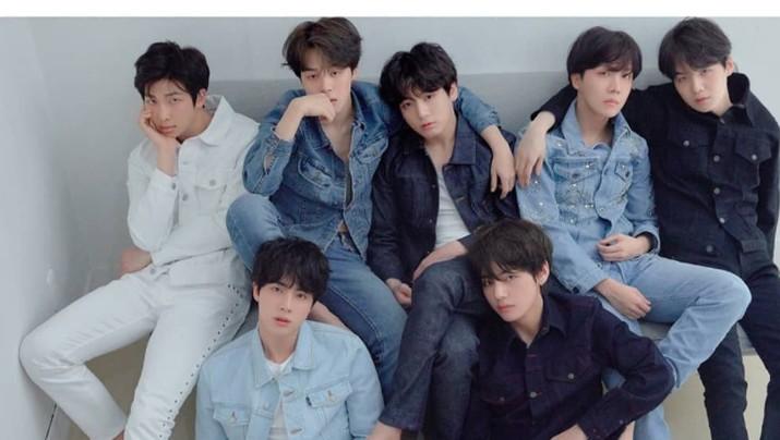 Fans BTS ramaikan tagar #7comebackspecial untuk rayakan peluncuran album baru boyband tersebut