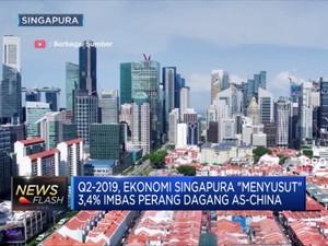 Ekonomi Singapura Menyusut