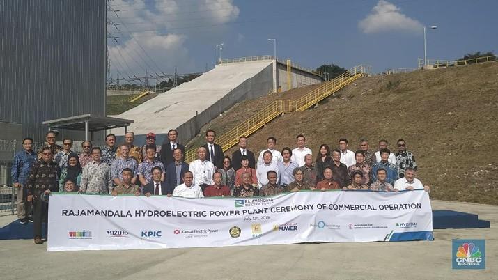 PLTA Rajamandala dengan kapasitas 47 megawatt (MW) resmi beroperasi secara komersial.