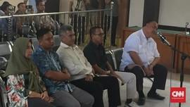 Divonis Bersalah, 5 Komisioner KPU Palembang Ajukan Banding