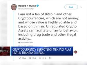 Trump: Libra Bukan Mata Uang