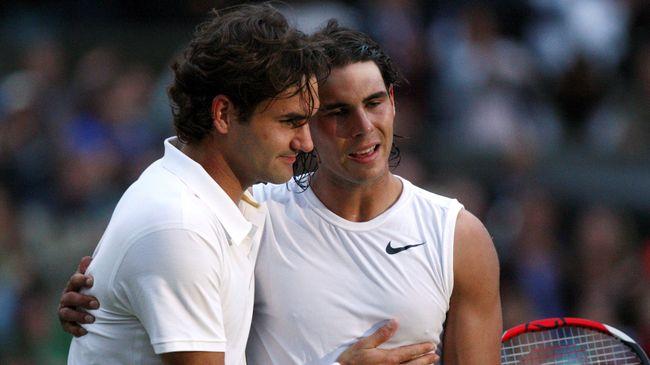 Fakta Menarik Jelang Federer vs Nadal di Wimbledon 2019