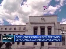 Indeks Dow Jones Cetak Rekor Baru