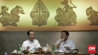 Cerita di Balik Meja Makan Jokowi dan Prabowo di Sate Senayan