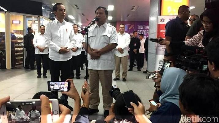 Sehari Usai Bertemu Jokowi, Prabowo: Tak Ada Tawar-menawar!