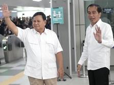 Jokowi dan Prabowo Bertemu, Sri Mulyani Happy!